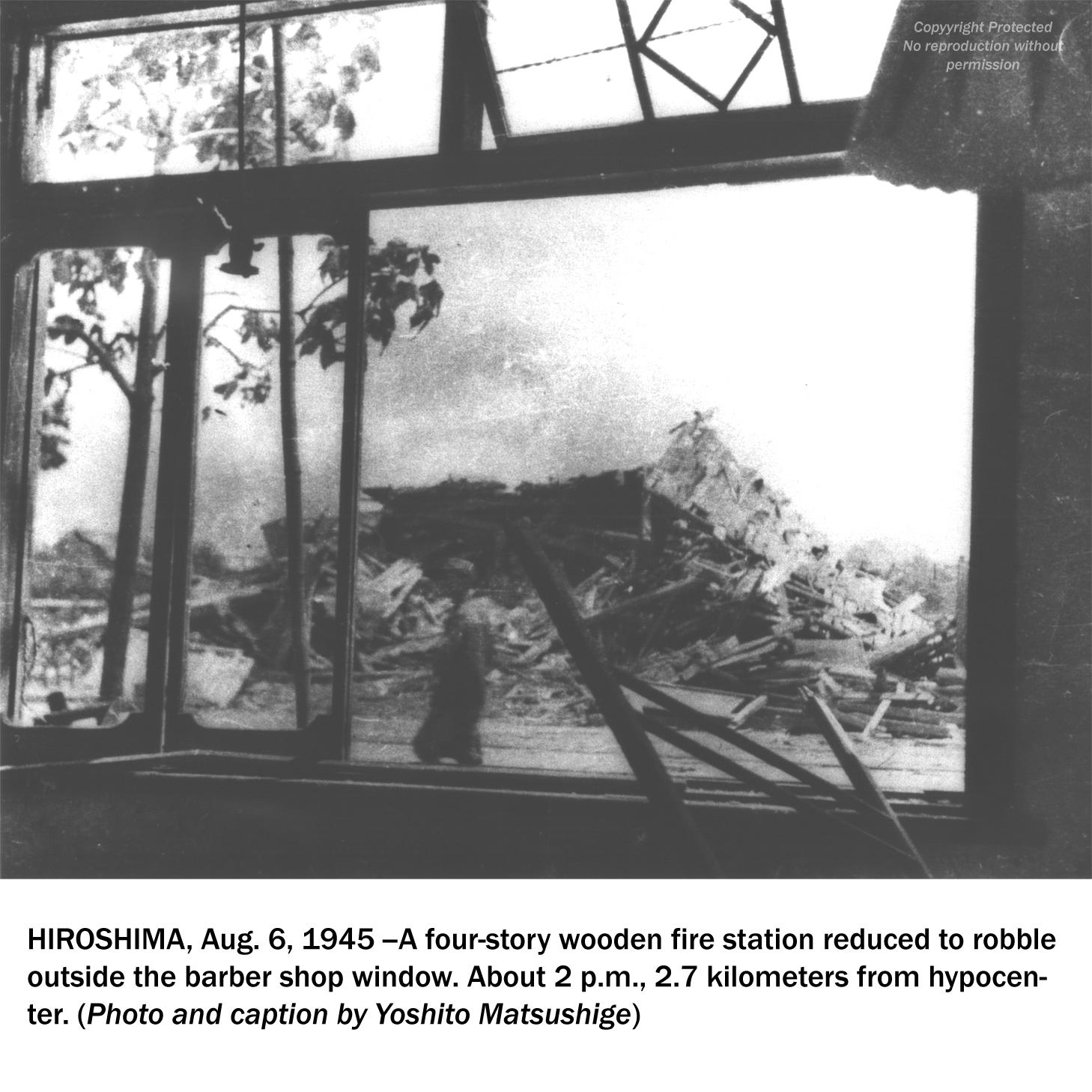primeras fotos bomba atómica Hiroshima 1945 Hiroshima atomic bomb first photos